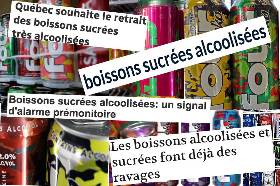 Boissons alcooliques sucrées : Santé Canada s'en mêle