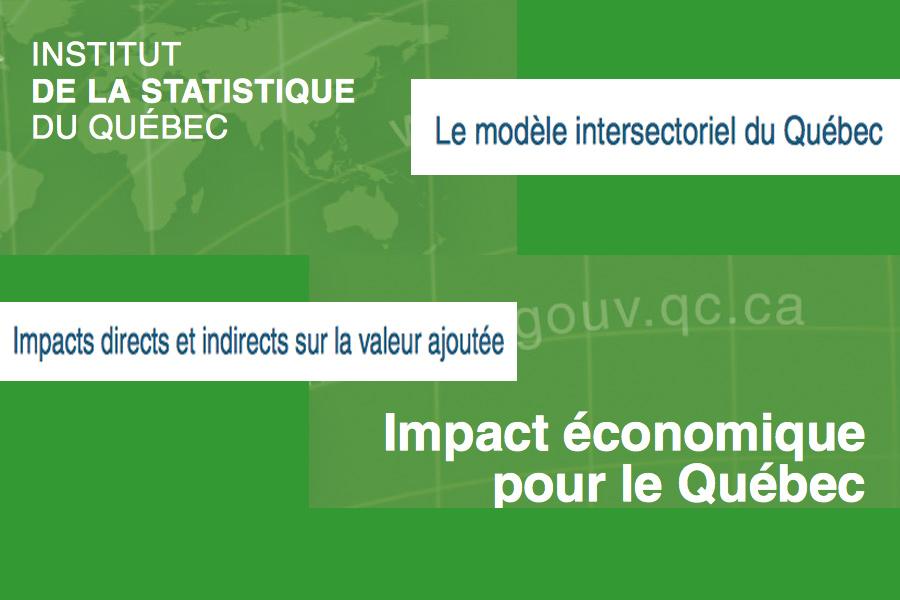Modèle intersectoriel (MISQ) : Pour bien mesurer «le choc de dépenses»
